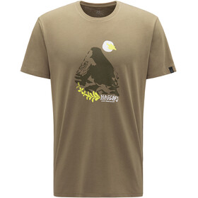 Haglöfs Camp Camiseta Hombre, sage green/sprout green